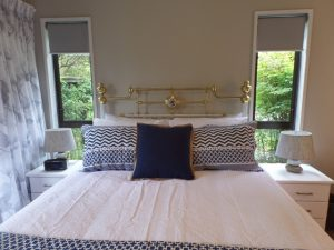 Garden Suite Queen bedroom at Riverstone House Geraldine
